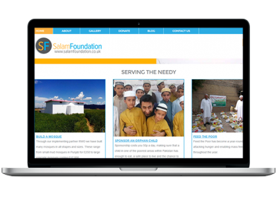 CHARITY WEBSITE